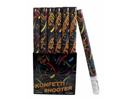 Konfetti Shooter 50cm mit Luftdruck