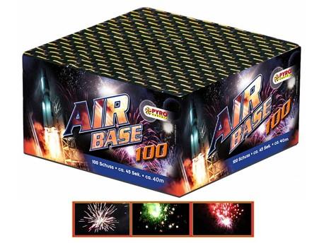 AIR BASE:    Rasante rote, silberne und Bunte Effekte lassen die Nacht zum Tag werden, a