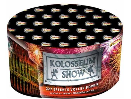 Kolosseum Show:    Diese Batterie-Fontänen Kombination lässt keine Wünsche offen. Von Cracklin