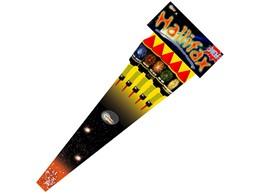 Hallifax New:   5-teiliges Raketen-Sortiment mit großer Füllung!   (Kategorie F2)