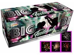 Big Festival:   Farbkräftige Batterie mit 1500g. Mit starkem Blitzzerleger und rasanter Schu