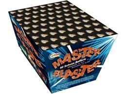 Master Blaster:    Abwechslungsreiche, imposante Fächerbatterie mit rotem, gelbem und grünem F