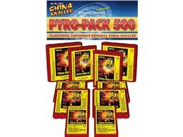 """Pyro- Pack 500:   60-teilig    Das ultimative Knallerset für """"Knallfrösche""""    (Kategori"""