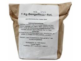 Bengalfeuer rot