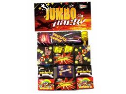 JUMBO Pack:   Mega - Sortiment für die jungen Feuerwerksbegeisterten, 172x Spaß für ALLE!