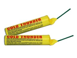Gold Thunder:   Gold Thunder ca.50g mit Vorbrenner   Blitzknaller KAT F4      Abgabe