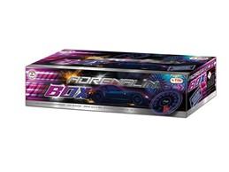 Adrenalin Box:    Verbundfeuerwerk der neuesten Generation. Den Zeitgeist unseres Jahrtausend